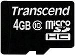 Фото Transcend microSDHC Class 10 4Gb