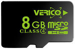 Фото Verico microSDHC Class 4 8Gb