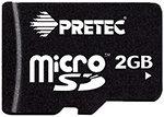 Фото Pretec microSD 2Gb