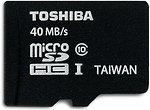Фото Toshiba microSDHC Class 10 UHS-I 40MB/s 16Gb