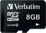 Фото Verbatim microSDHC Class 10 8Gb