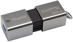 Фото Kingston DataTraveler HyperX Savage 512 GB
