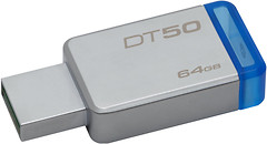 Фото Kingston DataTraveler 50 64 GB (DT50/64GB)