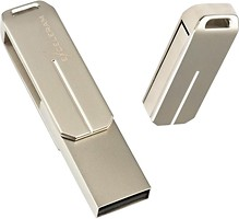 Фото Exceleram U3 Series Silver 2.0 32 GB (EXP2U2U3S32)