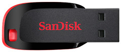Фото SanDisk Cruzer Blade 16 GB (SDCZ50-016G-B35)