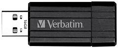 Фото Verbatim PinStripe Black 2.0 16 GB (49063)