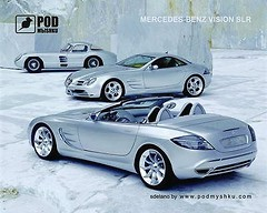 Фото Podmыshku Mercedes Vision SLR