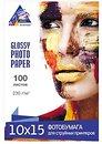 Фото InkSystem Glossy Photo Paper 230g 10x15 100л