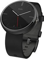Motorola Moto 360 Leather Black
