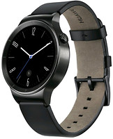 Huawei Watch Black Leather Strap