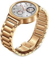 Huawei Watch Rose Gold Plated Stainless Steel Link Band