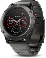 Фото Garmin Fenix 5X Slate Gray Sapphire with Metal Band