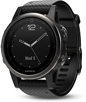 Фото Garmin Fenix 5S Black Sapphire with Black Band