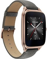 Фото ASUS ZenWatch 2 Gold Leather Grey (WI501Q)