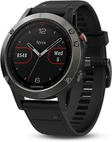 Фото Garmin Fenix 5 Slate Gray with Black Band