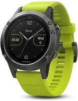 Фото Garmin Fenix 5 Slate Gray with Amp Yellow Band