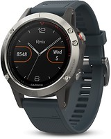 Фото Garmin Fenix 5 Silver with Granite Blue Band