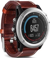 Garmin Fenix 3 Performer Bundle (Silver with Leather)