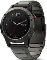 Фото Garmin Fenix 5 Slate Gray with Metal Band