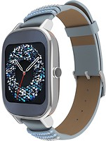 ASUS ZenWatch 2 Leather Swarovski Edition Silver (WI502Q)