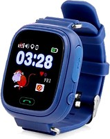 Smart Baby Watch Q100 Dark Blue