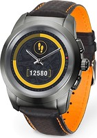 Фото MyKronoz ZeTime Premium Regular Titanium-Carbon/Black-Orange