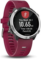 Фото Garmin Forerunner 645 Music with Cerise Coloured Band (010-01863-31)