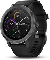Фото Garmin Vivoactive 3 Slate with Black Silicone