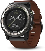 Фото Garmin D2 Charlie Titanium Bezel with Silicone Band