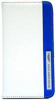Фото Aston Martin iPhone 5/5S Stripe Logo White/Blue (SMBKIPH5C028)