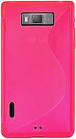 Фото Drobak Elastic PU LG Optimus L7 P705 Pink (211512)