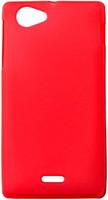 Drobak Elastic PU Sony Xperia J Red (212251)