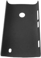 Drobak Shaggy Hard Nokia Lumia 520 Black (216366)
