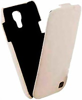 Фото Hoco Duke flip leather case for Samsung i9190 Galaxy S4 Mini HS-L066 White