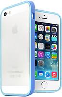 Фото JCPAL Anti shock Bumper 3 in 1 для iPhone 5S/5 Set Blue (JCP3313)