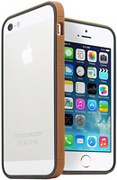 Фото JCPAL Anti shock Bumper 3 in 1 для iPhone 5S/5 Set Gold (JCP3310)