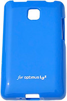Фото VOIA LG Optimus L3II - Jelly Case Blue