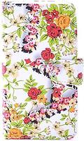 Florence Чехол-книжка универсальная 5.0 4XL Small Red Flowers (камера в центре) (FLUN54XLSMREDFL)