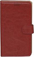 Florence Чехол-книжка универсальная 4.0 Red (камера слева) (FLUNELTCL40RD)