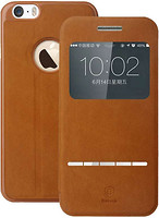 Фото Baseus Terse Leather for iPhone 6 Plus Brown