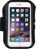 Фото Baseus Universal Sports Armband for iPhone 6/6S Plus Black (AWBASEOBD-B01)