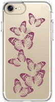 Speck iPhone 7 Presidio Clear Graphics Brilliantbutterflies Rose Gold/Clear (SP-79991-5947)