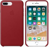 Apple iPhone 8 Plus Leather Case Red (MQHN2)