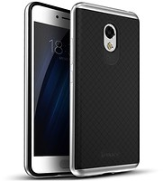 Фото iPaky TPU+PC Frame Silicone Case Meizu M5 Note Silver