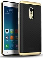 iPaky Xiaomi Redmi 4X Carbon TPU+Bumper Gold