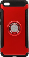 Фото BeCover Magnetic Ring Stand Xiaomi Redmi Note 5A Red (701769)