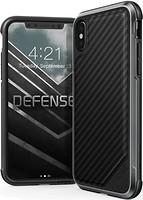 Фото X-Doria Defense Lux Carbon Fiber for Apple iPhone X Black (336920)