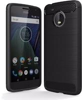 Laudtec Carbon Fiber Black для Motorola Moto G5 (LT-MMG5B)