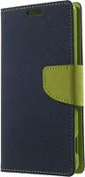 Фото Toto Book Cover Mercury Xiaomi Redmi Note 2 Dark Blue