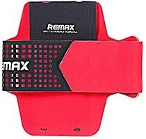 Фото Remax Running Arm Band Size L 25cm спортивный красный